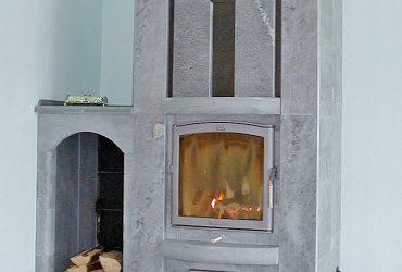 Individuell handgesetzte Specksteinöfen von Ofenhaus Baklarz
