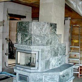 Kaminofen oder Pelletofen für Passivhaus oder Niedrigenergiehaus Vorschriften